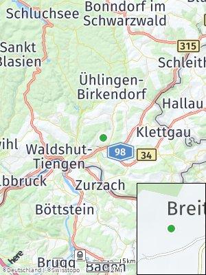 Here Map of Breitenfeld