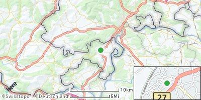 Google Map of Jestetten