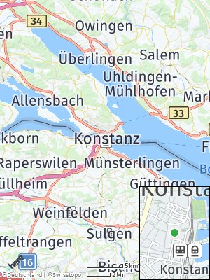 Here Map of Konstanz