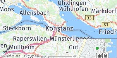 Google Map of Konstanz