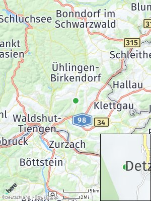 Here Map of Detzeln