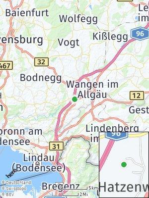Here Map of Hatzenweiler