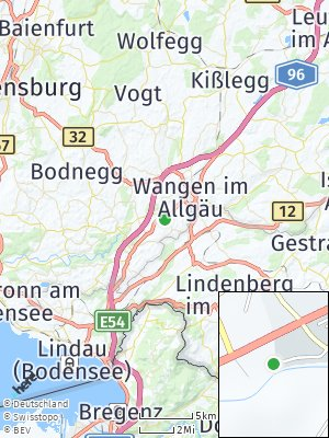 Here Map of Niederwangen