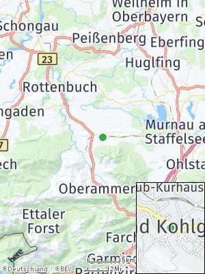 Here Map of Bad Kohlgrub