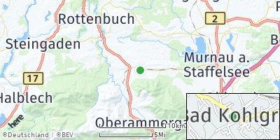 Google Map of Bad Kohlgrub