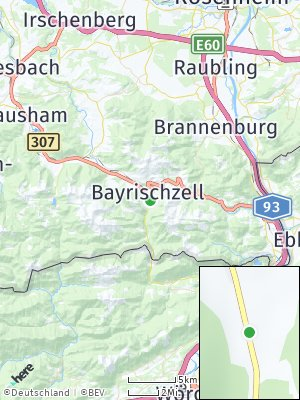 Here Map of Bayrischzell