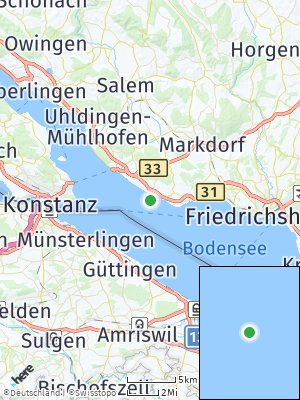 Here Map of Hagnau am Bodensee