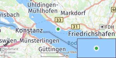 Google Map of Hagnau am Bodensee