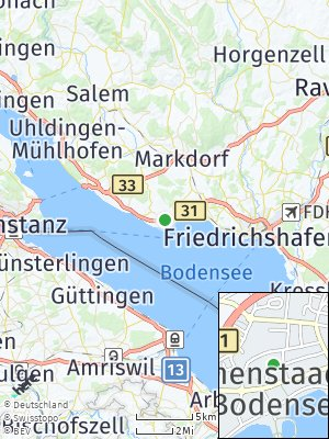 Here Map of Immenstaad am Bodensee