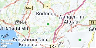 Google Map of Neukirch bei Tettnang