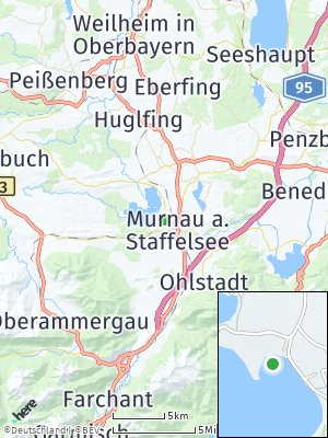 Here Map of Seehausen am Staffelsee