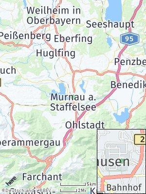 Here Map of Murnau am Staffelsee