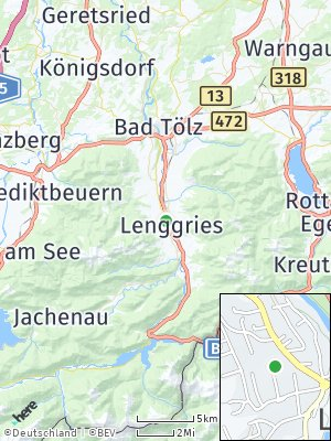 Here Map of Lenggries