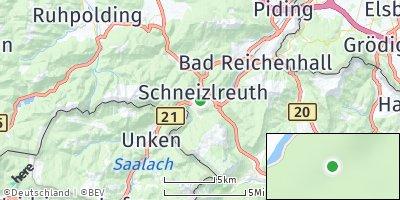 Google Map of Schneizlreuth