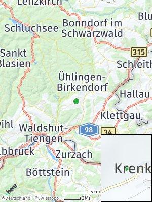 Here Map of Krenkingen
