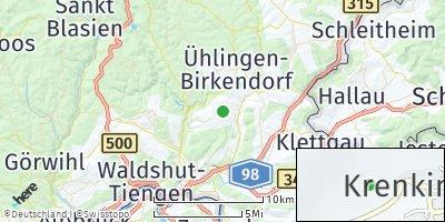 Google Map of Krenkingen