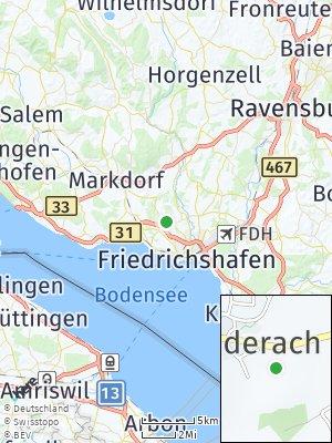 Here Map of Unterraderach