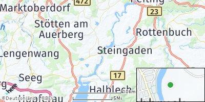 Google Map of Lechbruck am See