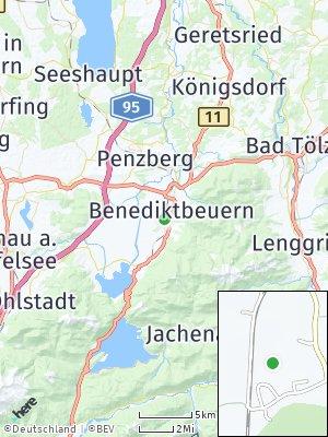 Here Map of Benediktbeuern