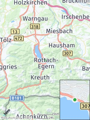 Here Map of Rottach-Egern