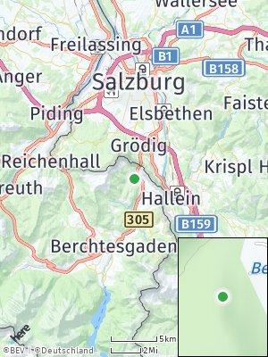Here Map of Marktschellenberg