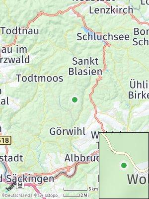 Here Map of Dachsberg