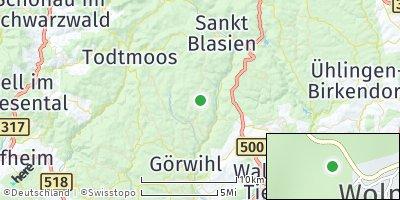 Google Map of Dachsberg
