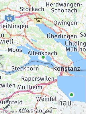 Here Map of Reichenau