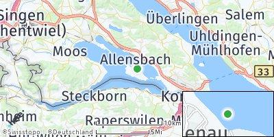 Google Map of Reichenau