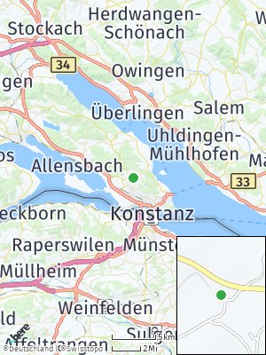 Here Map of Wollmatingen