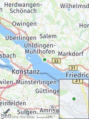 Here Map of Meersburg