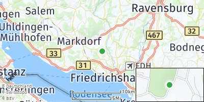 Google Map of Raderach