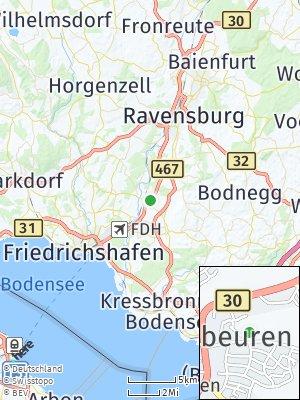 Here Map of Meckenbeuren