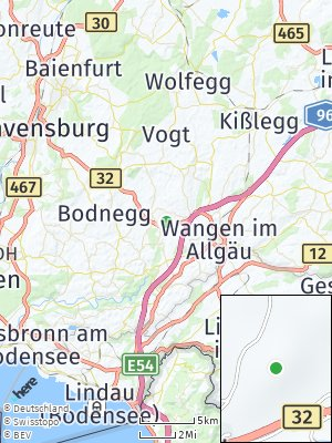 Here Map of Brententann