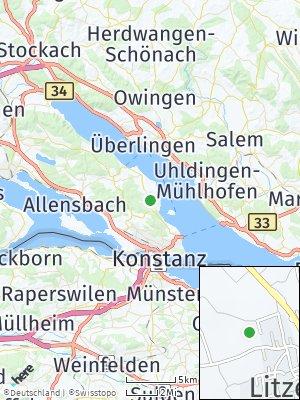 Here Map of Litzelstetten