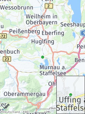 Here Map of Uffing am Staffelsee