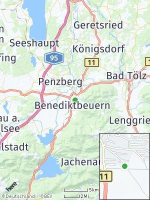 Here Map of Bichl bei Bad Tölz