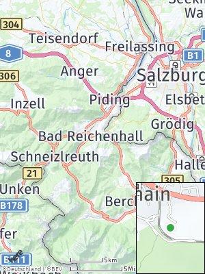 Here Map of Bayerisch Gmain