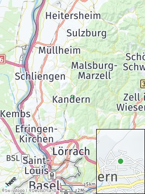 Here Map of Kandern