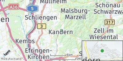 Google Map of Kandern