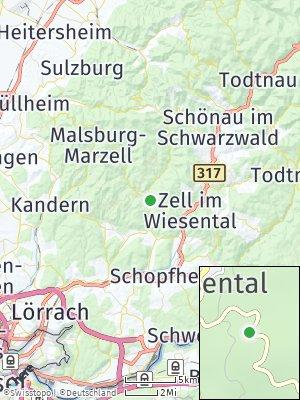 Here Map of Tegernau