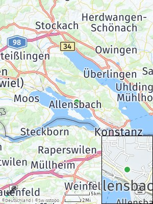Here Map of Allensbach
