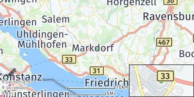 Google Map of Markdorf
