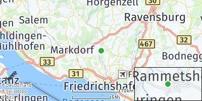 Google Map of Oberteuringen