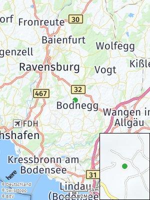 Here Map of Bodnegg