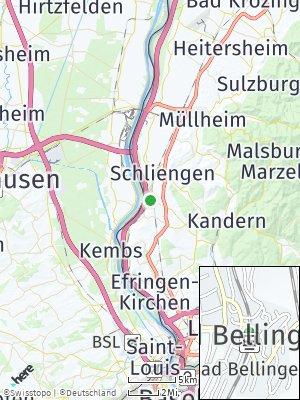 Here Map of Bad Bellingen