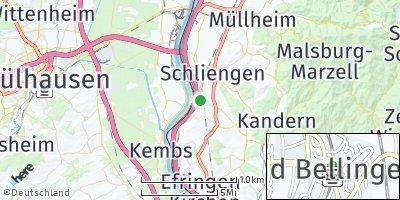 Google Map of Bad Bellingen