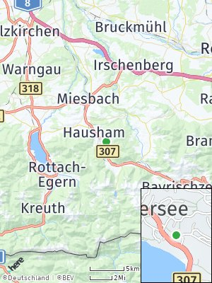 Here Map of Schliersee