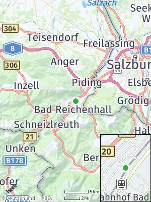 Here Map of Bad Reichenhall