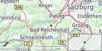 Google Map of Bad Reichenhall